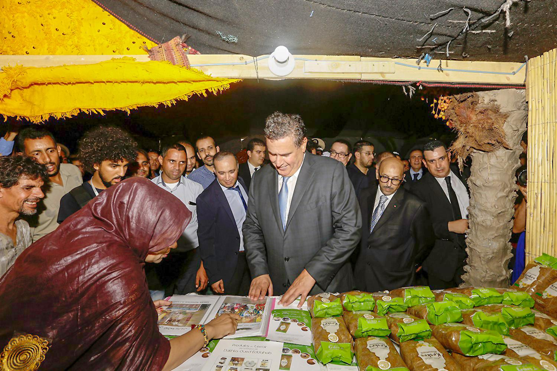 تزنيت : أخنوش يترأس حفل افتتاح النسخة الثالثة من المعرض الوطني للمراعي