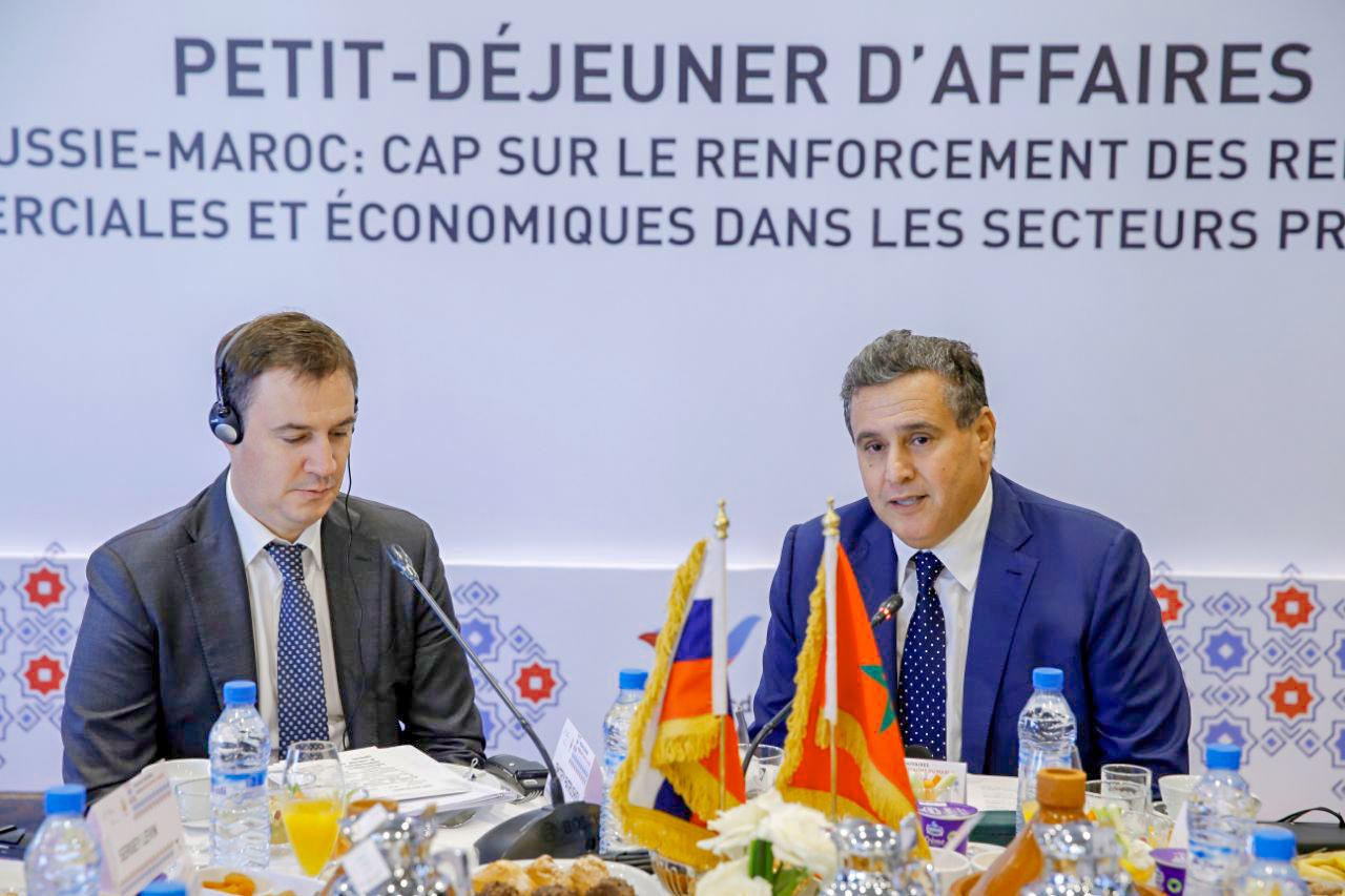 أخنوش : القطاع الفلاحي يشكل 77 في المائة من الصادرات المغربية الموجهة إلى روسيا