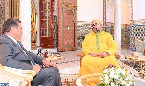 جلالة الملك يستقبل عزيز أخنوش ويكلفه ببلورة تصور استراتيجي شامل من أجل تنمية الفلاحة