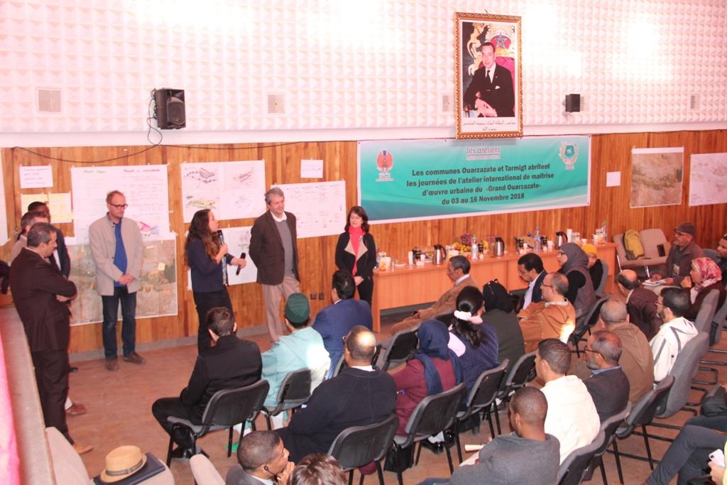 الورش الدولي و رهانات تحقيق التنمية المجالية بورزازات الكبرى