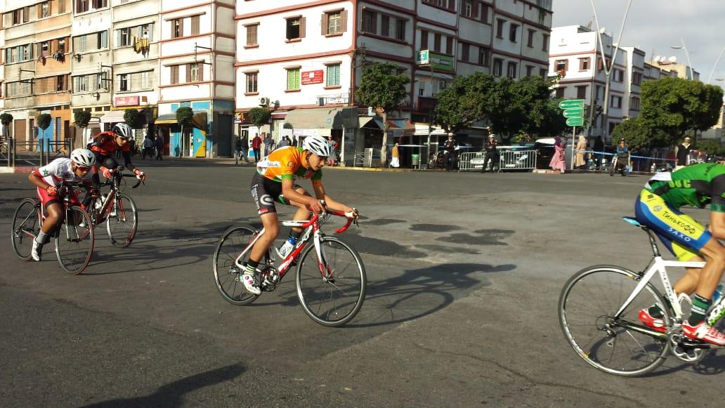 سباق الدراجات الهوائية لجمعية شباب درب الفقراء للرياضة و التنمية في نسخته التانية عشر