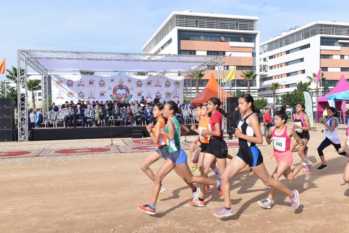 البطولة الوطنية للعدو الريفي بالحي الحسني محفز لتنمية القدرات الرياضية والتربوية للناشئة