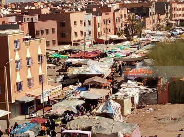 انتهاء كابوس اكبر سوق عشوائي بمراكش
