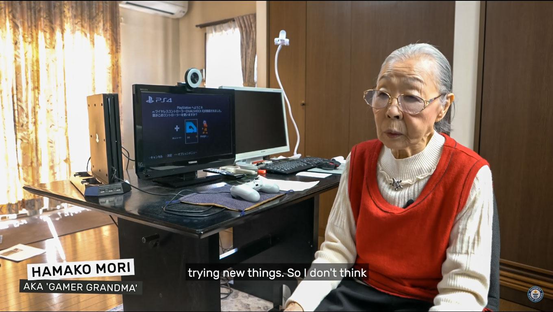 سيدة يابانية في 90 من عمرها تدخل موسوعة غينيس كأقدم youtuber في مجال gaming في العالم