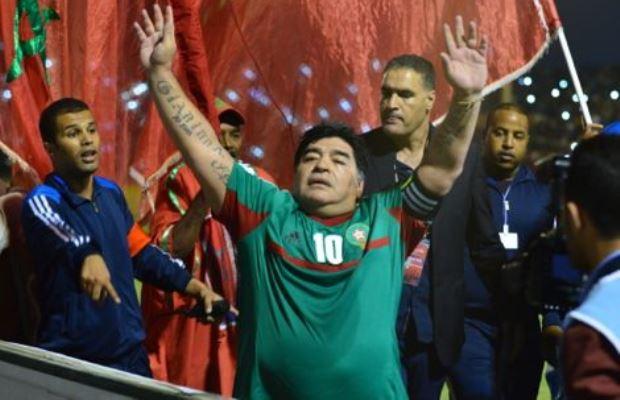 وفاة الأسطورة مارادونا