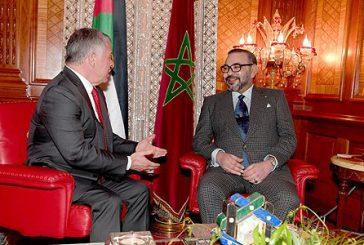 وسائل إعلام أردنية ..جلالة الملك أول قائد يتصل بالعاهل الاردني لتأكيد دعم المملكة لقرارات الاردن